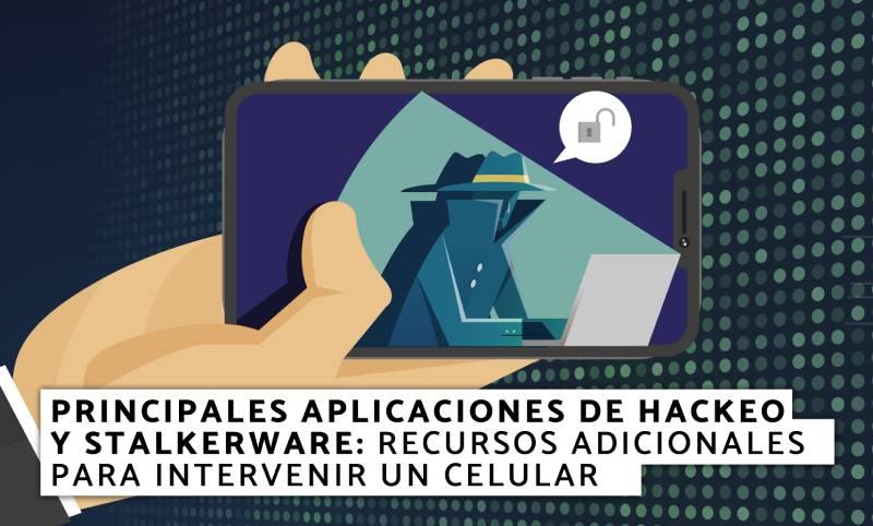 aplicaciones de hackeo y stalkerware
